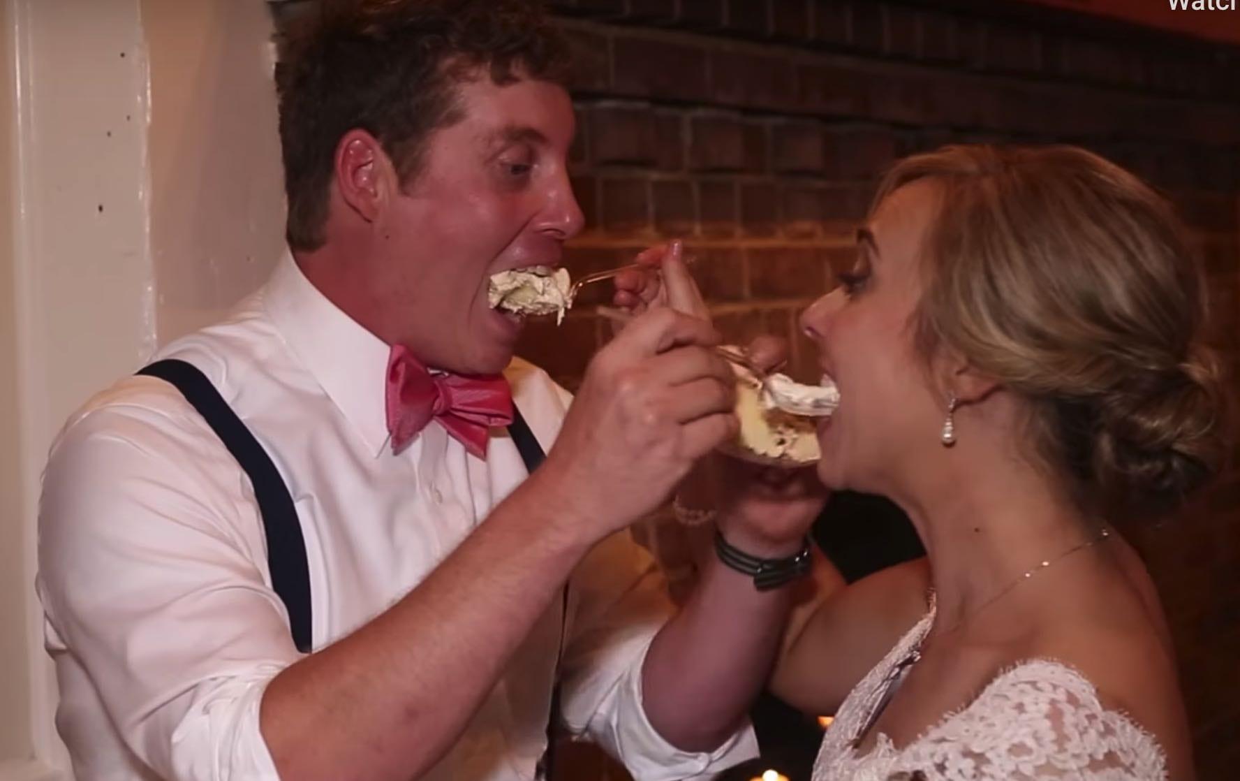wedding cake smash up