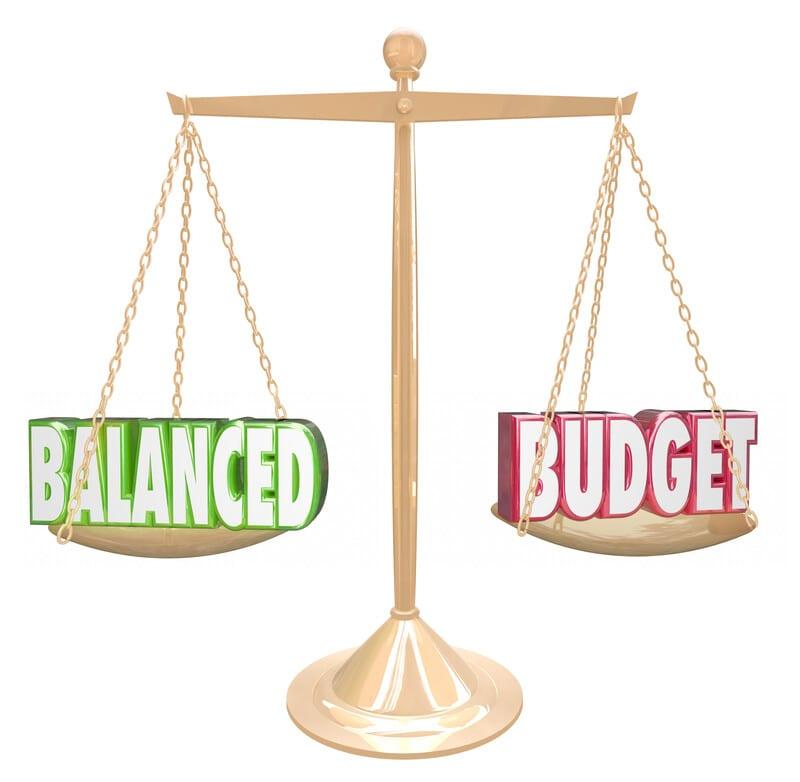 balanced wedding budget