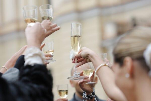 length of a wedding toast