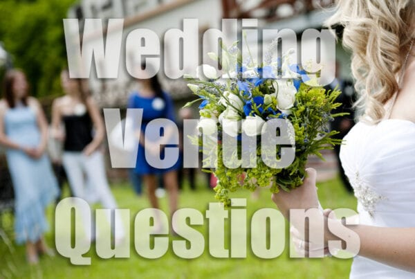 wedding venue questions